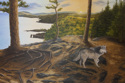 Wolf at Tettegouche State Park (thumbnail)