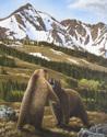 Grizzlies at Yellowstone (thumbnail)