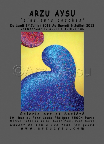 Upcoming Exhibition July 2013