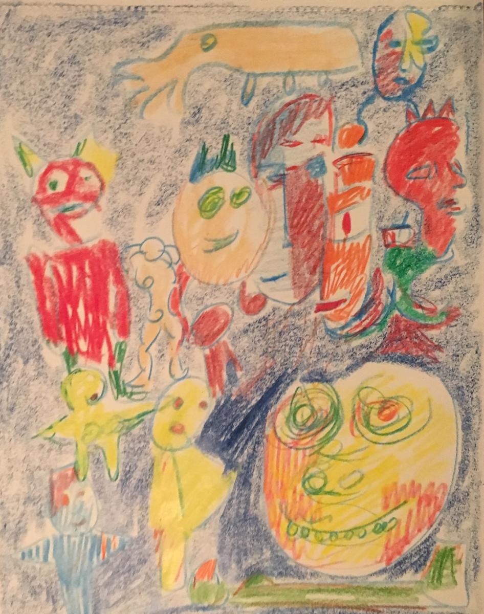 """""""Creature 1"""" (large view)"""