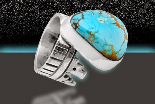Sterling Turquoise ring