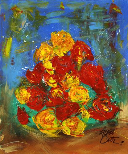 Roses for u by Albert Carter