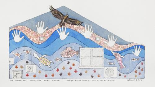 Moreland 'Recognise' Mural design