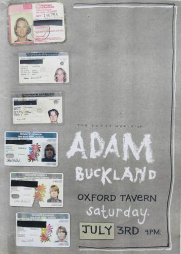 The Dodgy World of Adam Buckland