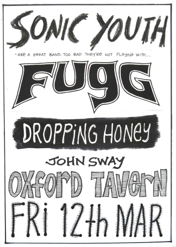 Sonic Youth, FugG, Dropping Honey, John Sway