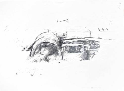 Polytunnel and shed III
