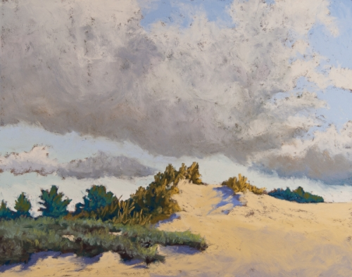 Cloud Over Dune by Annette Conniff