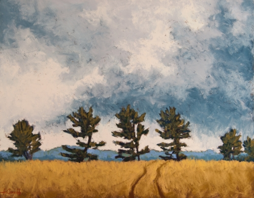 Pine Tree Rally by Annette Conniff