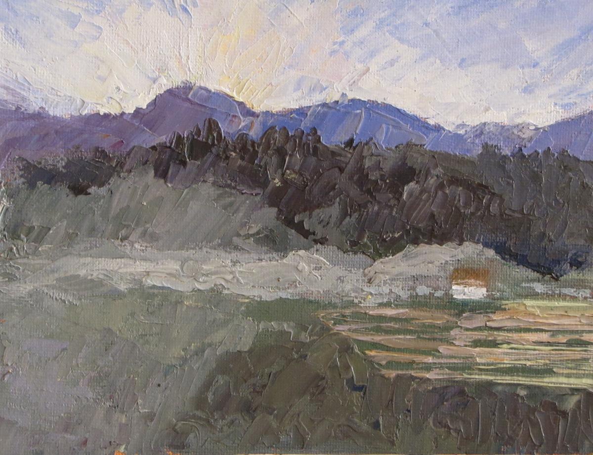 Dawn Barga Italy (large view)