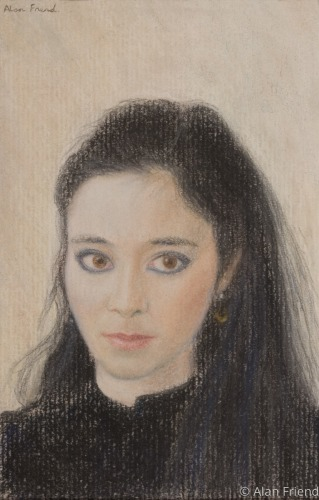 A Pastel of a Lady