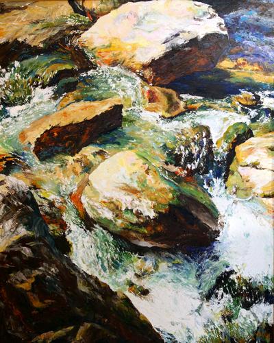 Watermusic XVIII by Rosemarie Bloch