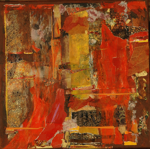Red Bursts 1