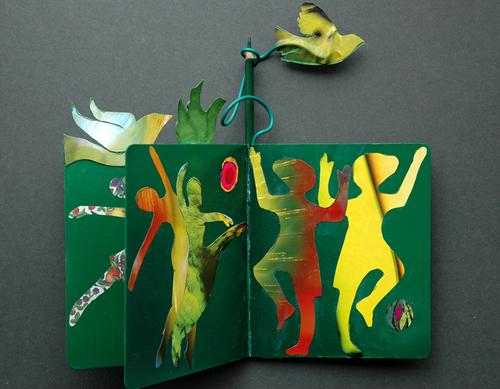 Peace Book - Green