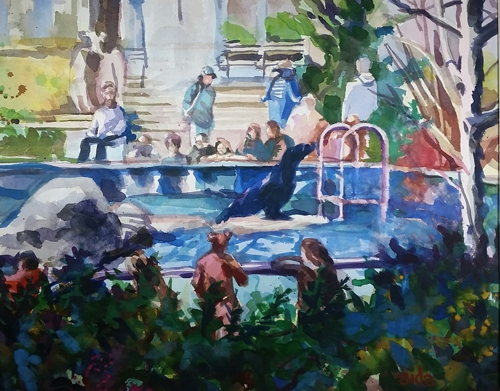 Central Park Zoo, NYC (large view)