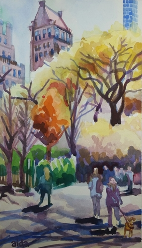Saturday in the Park, NYC by aida