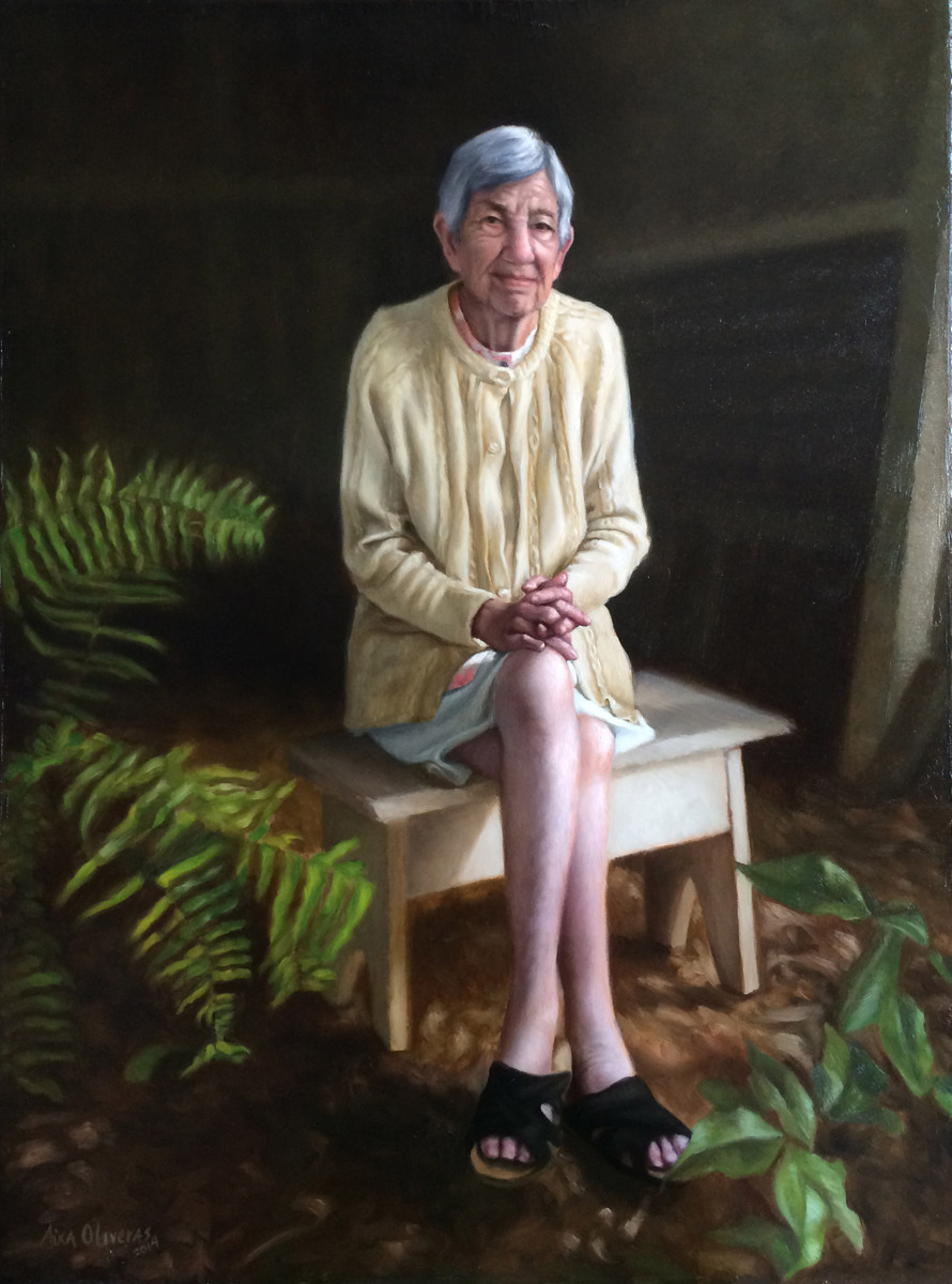 Portrait of my Grandmother (large view)