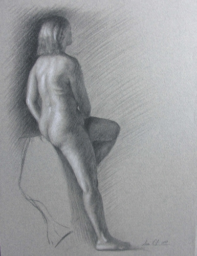 Figure with Cloth