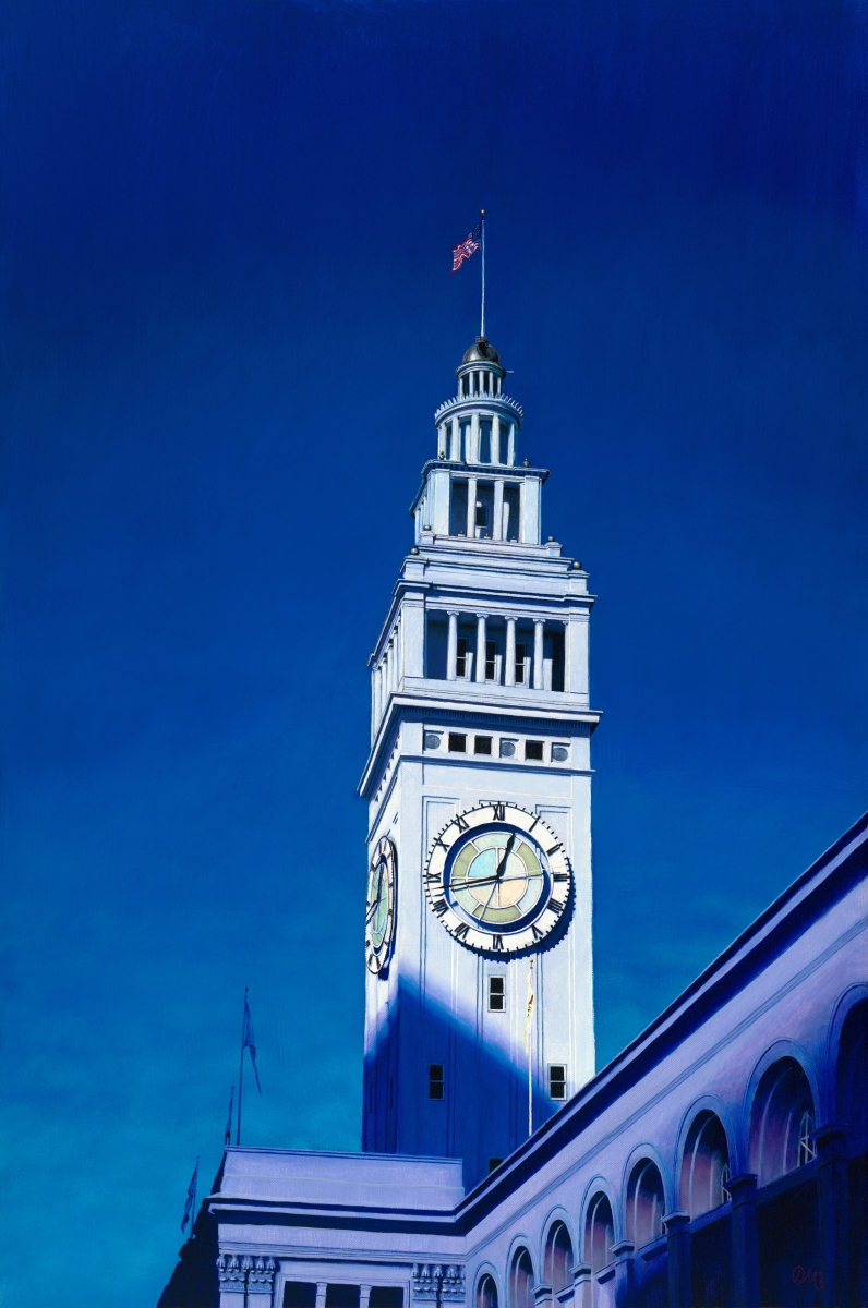 12:43 PM, Ferry Building Clock Tower (large view)