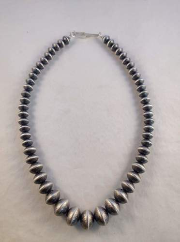 oxidized sand textured beads by The Joe Legacy: Alfred and Bryan Joe
