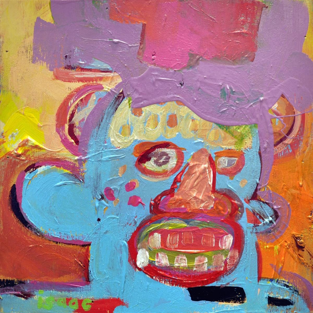 blue man's teeth (large view)