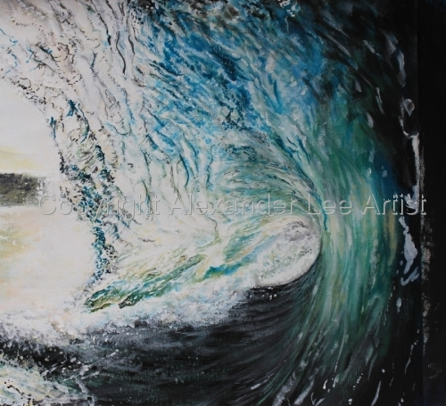 Green Wave by Alexander Lee Artist