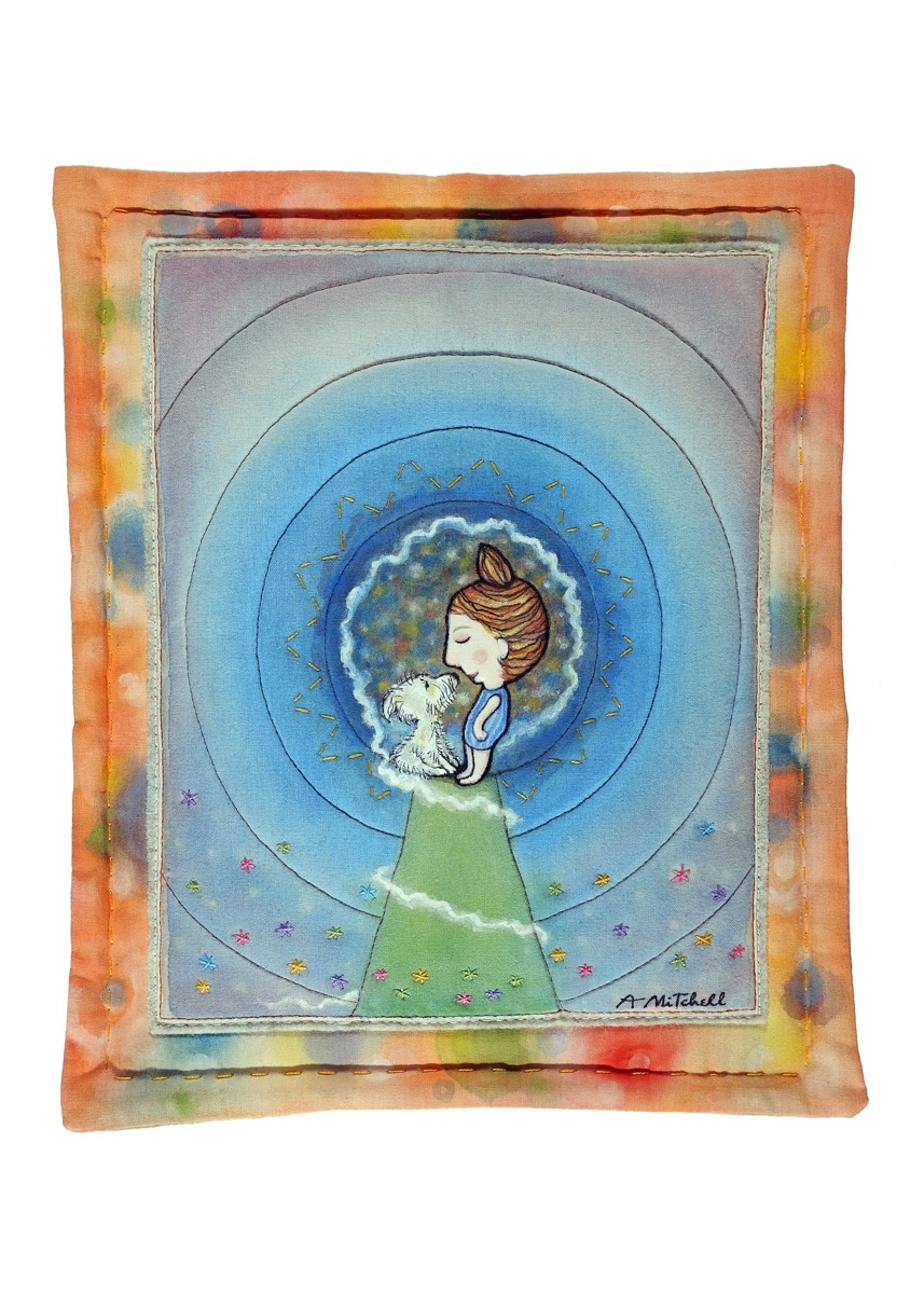 COSMOS, Fabric Wall Hanging (large view)