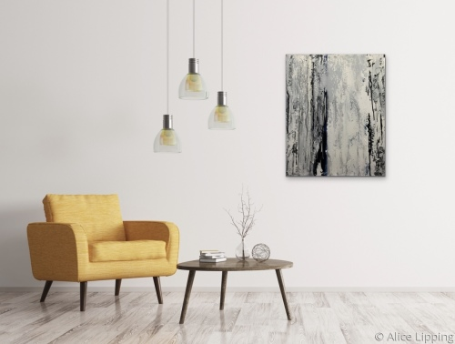 White Birch in Situ by Alice Lipping