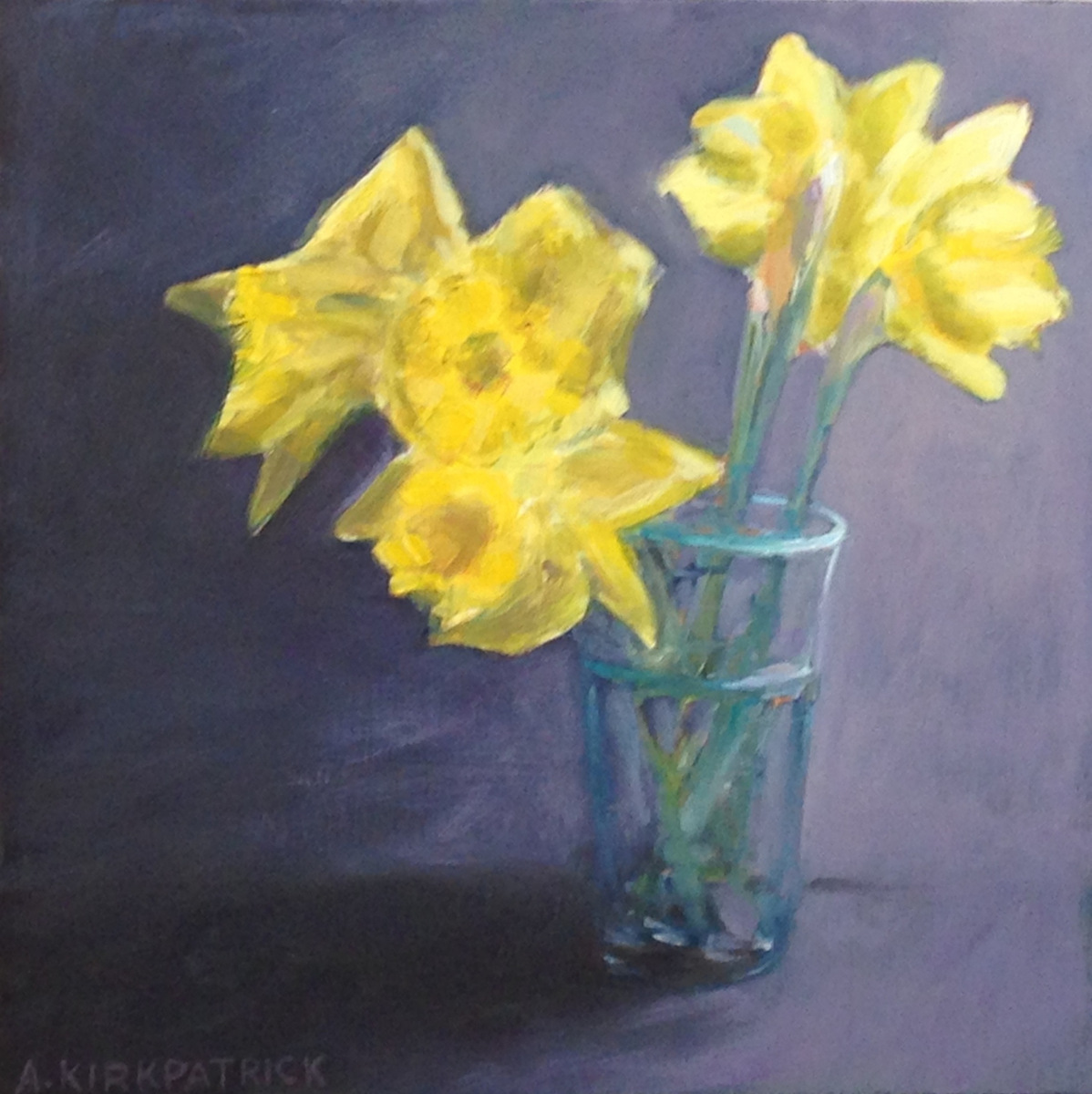 Daffs in a Glass (large view)