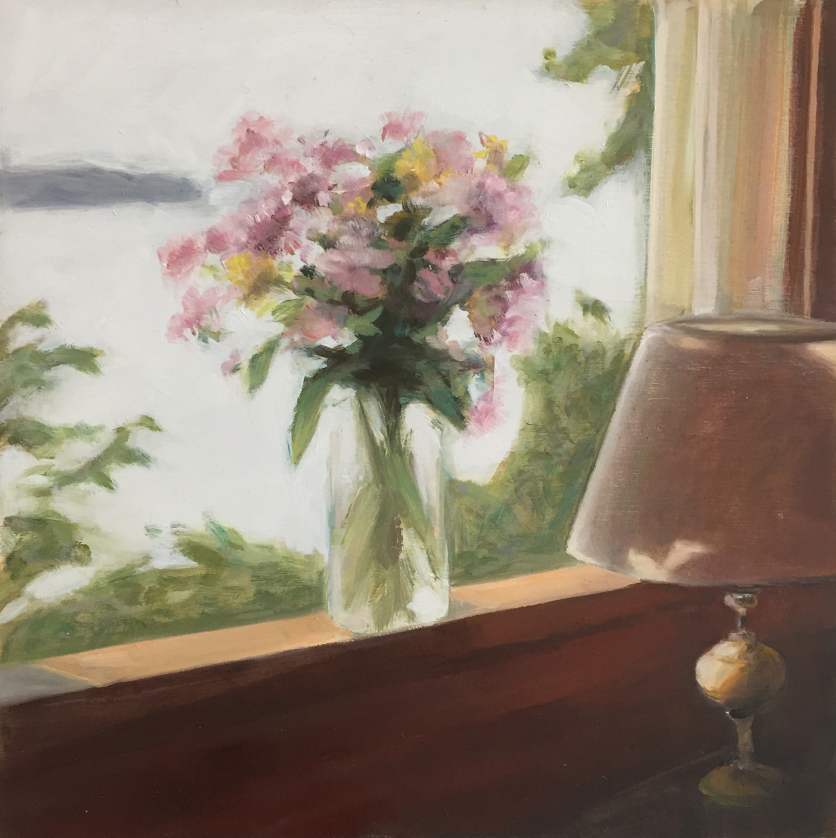 """Summer Phlox, in Window"" (large view)"