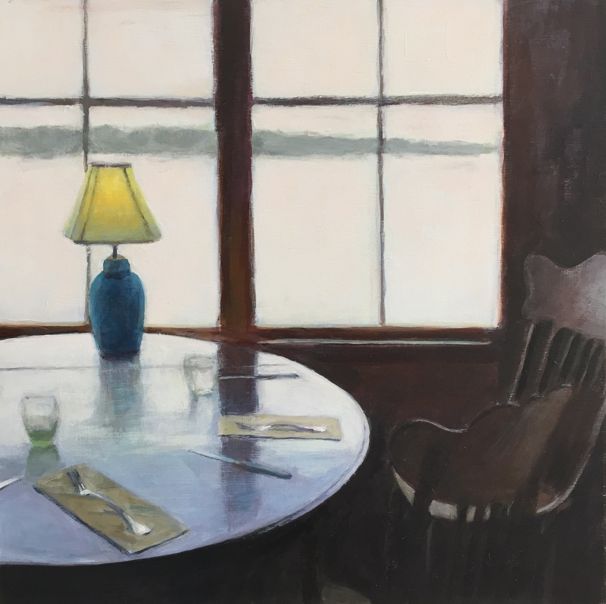 """""""Dining, on a Foggy Day"""" (large view)"""