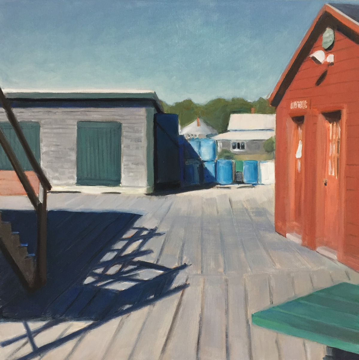 """Five Islands Wharf"" (large view)"