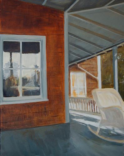 Box Cottage Porch by Alice Kirkpatrick
