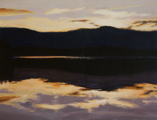 Dusk on the Bay by Alice Kirkpatrick