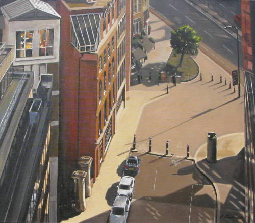 Afternoon in the City (Winner of The Artist Highly Commended Award at Patchings Art Festival 2014)