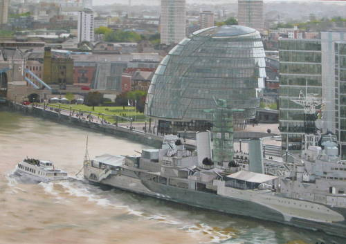 Pool of London: HMS Belfast