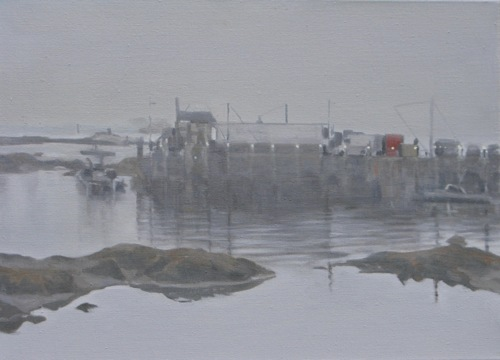 Lobster Harbour, Maine: Early Morning Mist