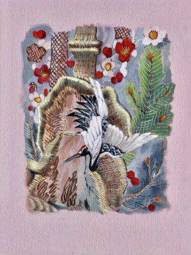Kimono: Study (1) by Alison Chambers RBSA
