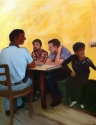Lunch in Hudson (thumbnail)