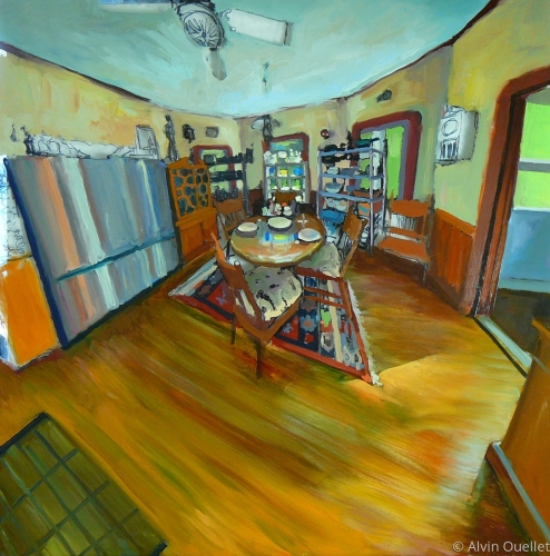 Artist's Home Interior: Kitchen II