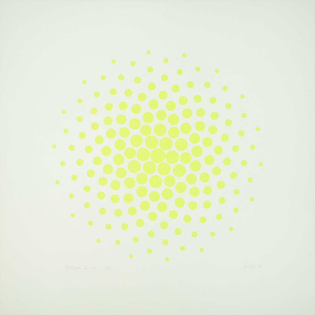 Diffusion IV, Green (large view)