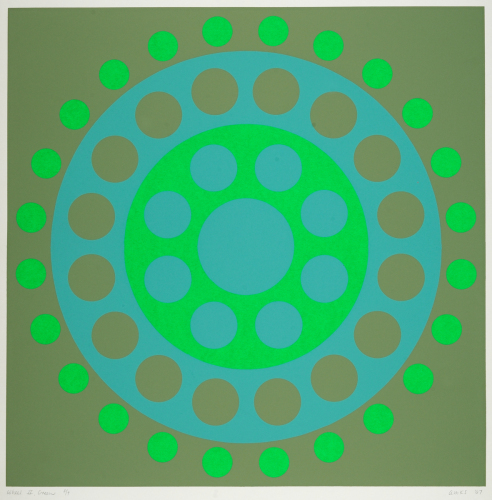 Wheel II, Green.
