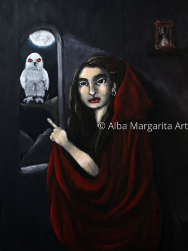 La Despedida/The Farewell by Alba Margarita Art