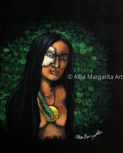 Mestiza by Alba Margarita Art
