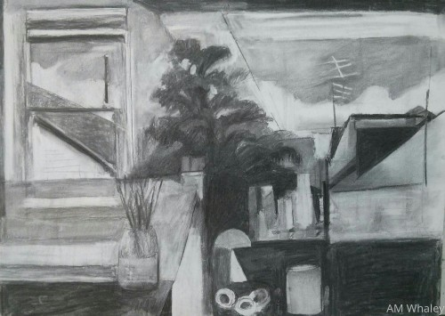 From the Studio, charcoal