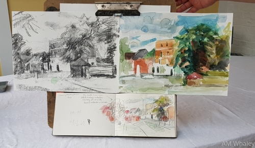 Sketch book from Richmond