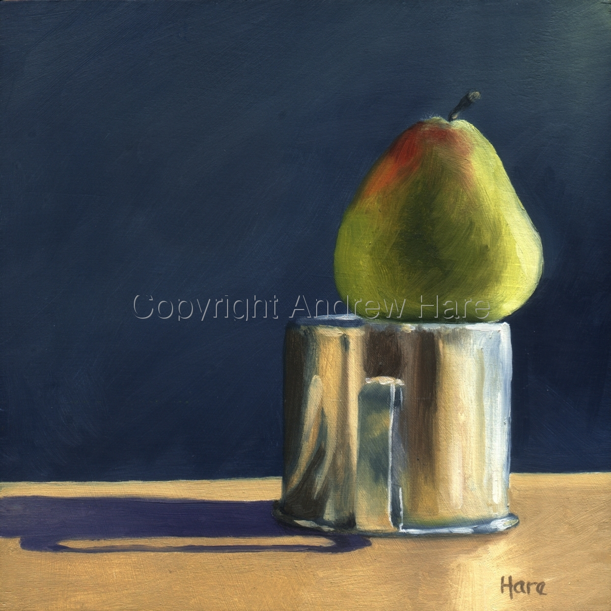 Still Life with Pear and Cup (large view)