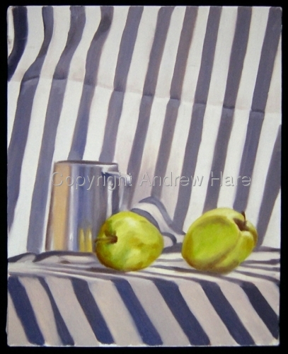Apples And Silver (large view)