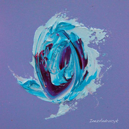 Blue Cyclone by Inez Andrucyk