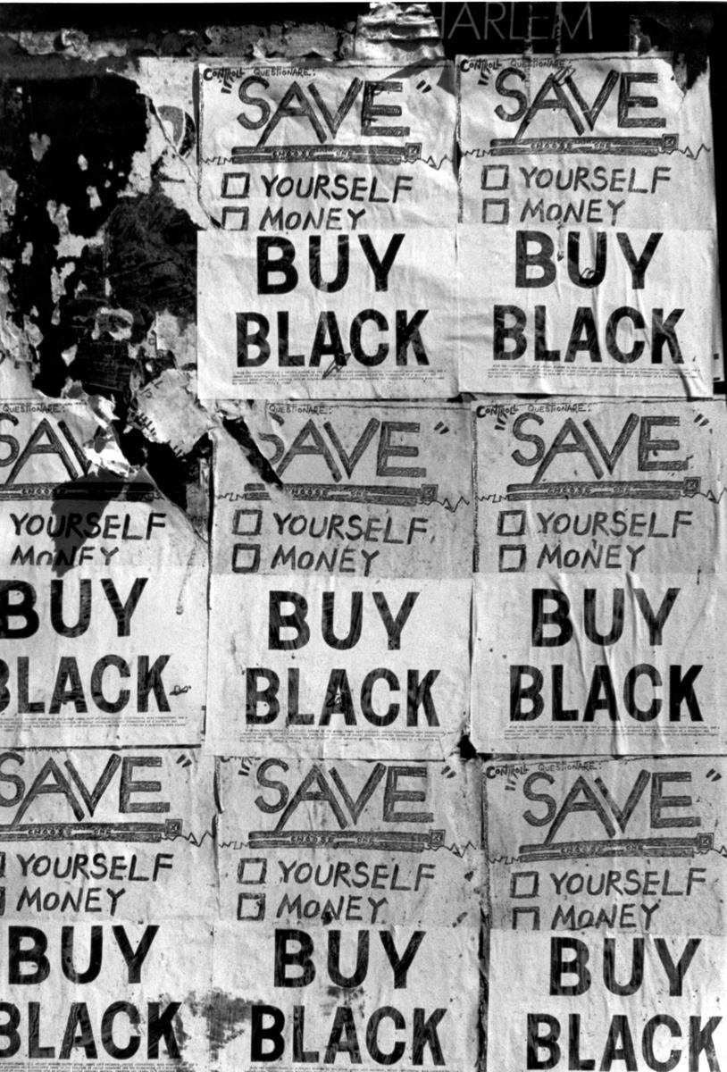 Buy black posters harlem n y