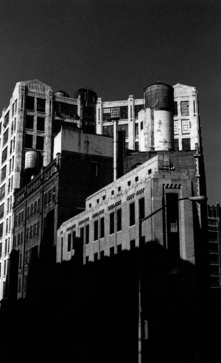 Tribeca Triangle Bldg.  Tribeca  N.Y.C. (large view)